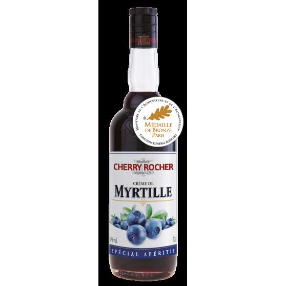 Crème de myrtille 70cl - 16°