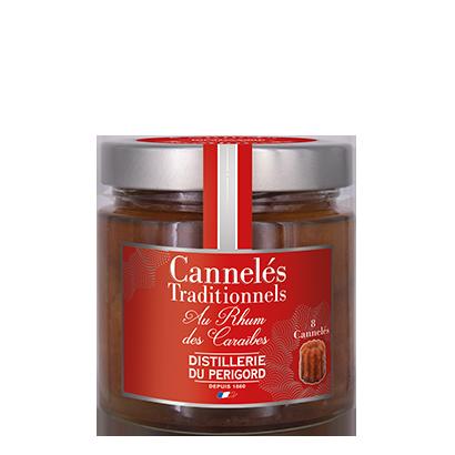 Cannelés au Rhum des Caraïbes - 8 portions